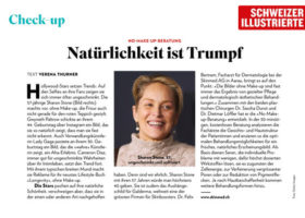 Schweizer Illustrierte über die No Makeup Beratung bei skinmed