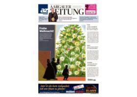 Aargauer Zeitung Sandra Caruso Titelseite