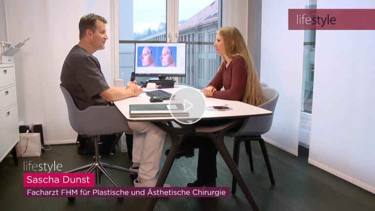 Video: Begleiten Sie drei Patientinnen bei ihrer Nasenkorrektur in der skinmed Klinik. (Beitrag des TV-Magazins Lifestyle)