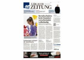Aargauer Zeitung März Kolumne skinmed