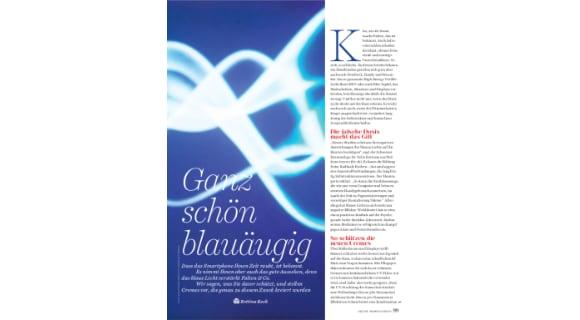 Women's Health Artikel Blue Light skinmed