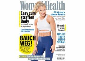 Womens Health skinmed Titelseite