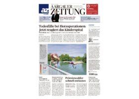 Aargauer Zeitung Digitalisierung skinmed