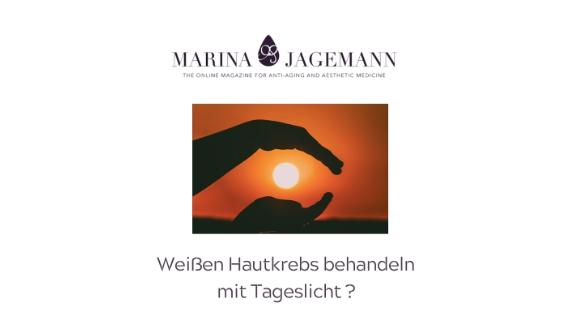 Marina Jagemann Hautkrebs mit Licht behandeln skinmed