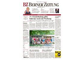 Berner Zeitung Interview Felix Bertram zu Gölä Sonnenbrand