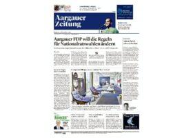 Aargauer Zeitung Kolumne November 2019 Social Media